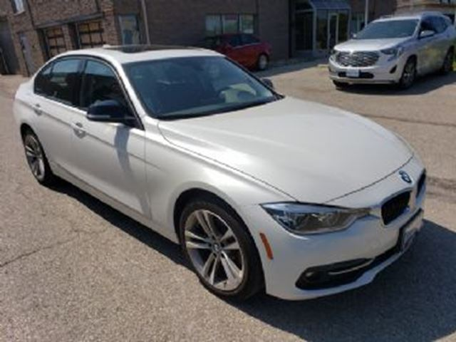 2017 BMW 3 SERIES 4dr Sdn 320i xDrive AWD w/ EXCESS WEAR/TEAR PROTECTION in Mississauga, Ontario