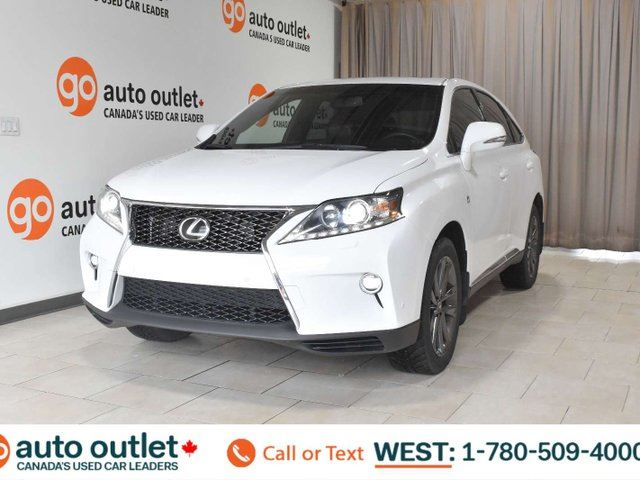 2015 LEXUS RX 350 F sport, awd, heated/cooled front seats, navigation, backup camera, sunroof in Edmonton, Alberta