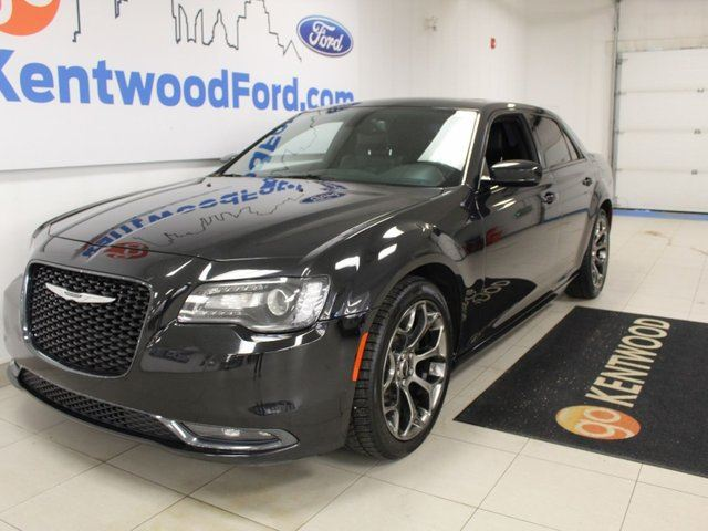 2015 CHRYSLER 300 S RWD with NAV, sunroof, heated power leather seats, back up cam in Edmonton, Alberta