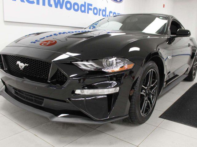 2018 FORD MUSTANG GT 5.0L RWD 6-SPD manual with power seats, back up cam, push start/stop in Edmonton, Alberta