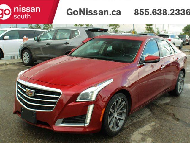 2016 CADILLAC CTS RIDE IN CLASS WITH NAVIGATION COOLING SEATS AND SUNROOF!! in Edmonton, Alberta