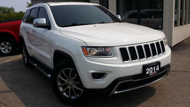 2014 JEEP GRAND CHEROKEE LIMITED 4WD in Kitchener, Ontario
