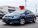 2013 Honda Civic LX Coupe 5-Speed AT in Burlington, Ontario