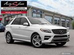 2015 Mercedes-Benz M-Class 4Matic ML350 BLUETEC **DIESEL** AWD ONLY 83K! *TECH PKG* in Scarborough, Ontario