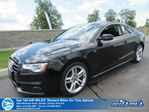 2016 Audi A5 Technik- AWD S-Line, Navigation, Sunroof, Leather, Heated Seats, Bluetooth, Alloy Wheels and more! in Guelph, Ontario