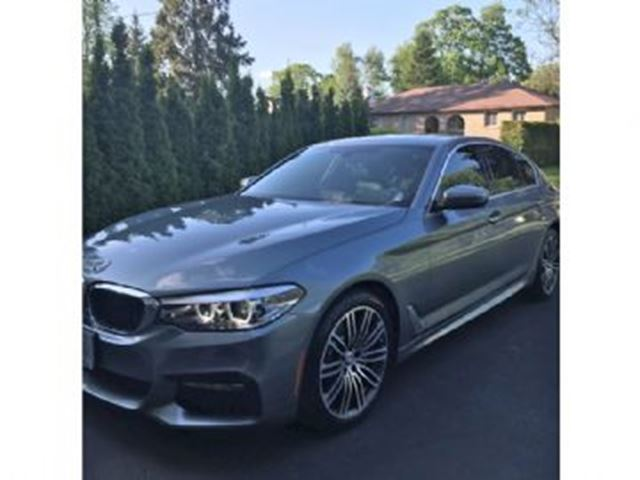 2017 BMW 5 SERIES 4dr Sdn 530i xDrive AWD in Mississauga, Ontario