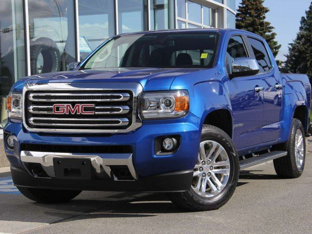 2018 GMC CANYON 4WD SLT 4x4 Crew Cab Pickup 128.3 in. WB in Kamloops, British Columbia