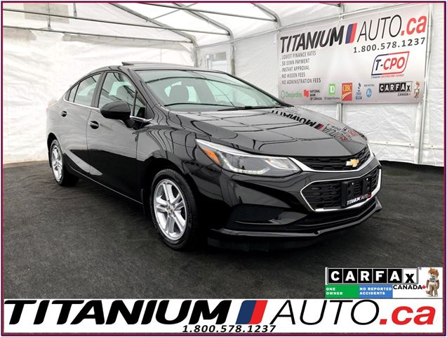 2016 Chevrolet Cruze LT+Camera+Sunroof+Blind Spot+Lane Assist+Heated Se in