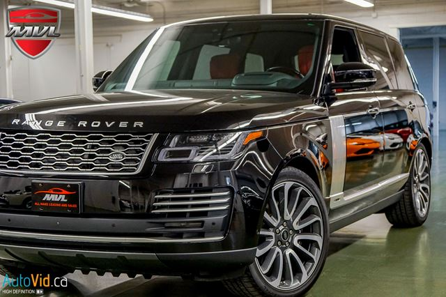 2018 Land Rover Range Rover 5.0L V8 Supercharged Autobiography SC AUTOBIOGR in