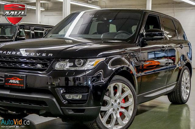 2016 Land Rover Range Rover Sport V8 Supercharged SC  5.0L SUPERCHARGED 510HP in