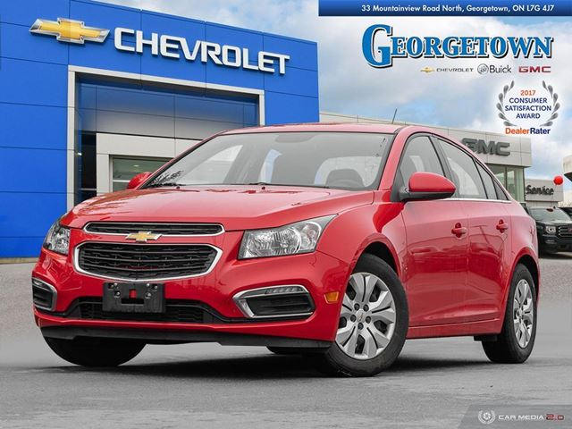 2015 Chevrolet Cruze 1LT 1LT|MANUAL|TOUCH SCREEN|REARVIEW CAMERA|BLUETOOTH|REMOTE START in