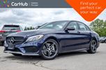 2016 Mercedes-Benz C-Class C 450 AMG 4Matic Navi Pano Sunroof Backup Cam Bluetooth Blind Spot 18Alloy Rims in Bolton, Ontario