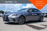 2017 Lexus IS 300 AWD Navi Sunroof Backup Cam Bluetooth Line Departure Heated Front Seats 17Alloy Rims in Bolton, Ontario