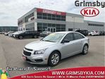 2015 Chevrolet Cruze GAS SAVER/ LOW KM'S/ POWER OPTIONS in Grimsby, Ontario