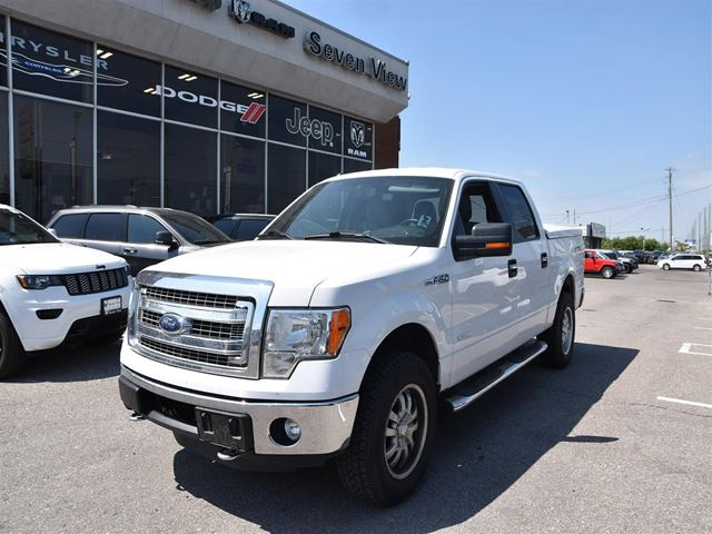 2013 FORD F-150 XRT REAR CAMERA/FIBREGLASS TONEAU COVER/STEPS in Concord, Ontario