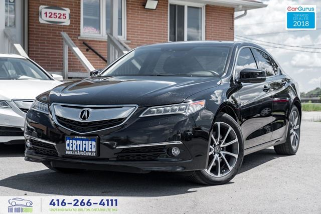 2015 Acura TLX ELITE *V6* SH AWD CleanCarfax Certified We Finance in Toronto, Ontario