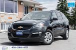 2015 Chevrolet Traverse 1 OWNER NO ACCIDENTS WARRANTY CERTIFIED WE FINANCE in Toronto, Ontario