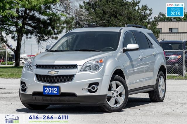 2012 CHEVROLET Equinox CleanCarfax Leather*Roof*RCam Certified We Finance in Toronto, Ontario