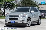2012 Chevrolet Equinox Leather/Roof RCam CleanCarfax CertifiedGMServiced in Toronto, Ontario