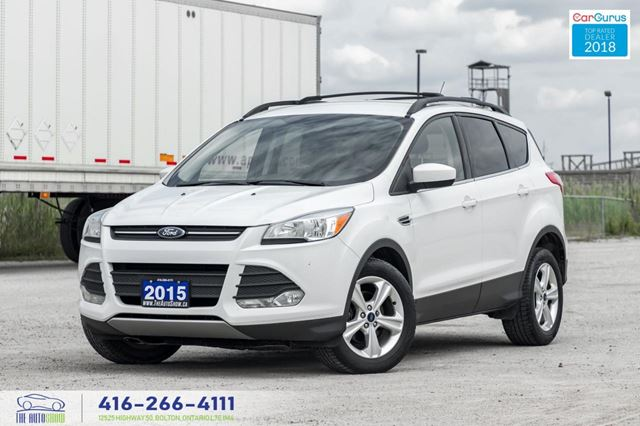 2015 Ford Escape 1Owner CleanCarfax CertifiedServiced Tires Finance in Toronto, Ontario