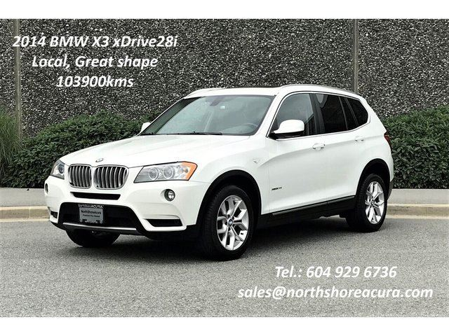 2014 BMW X3 Xdrive28i w/Premium & Navi in North Vancouver, British Columbia