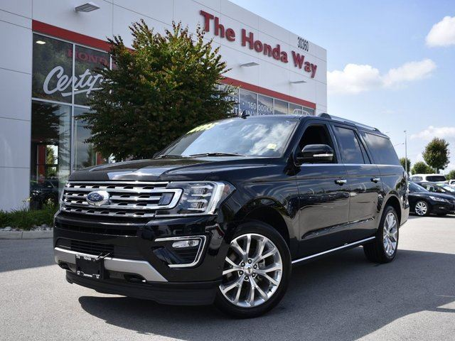 2018 FORD EXPEDITION Limited Max in Abbotsford, British Columbia