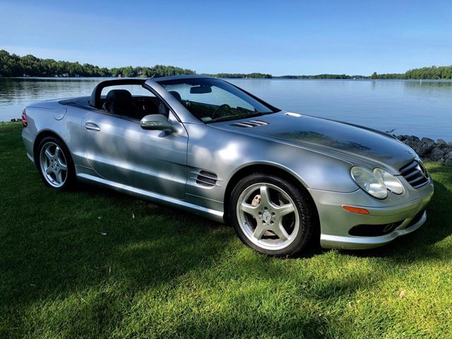 2003 Mercedes-Benz SL-Class SL 500 has been sold in