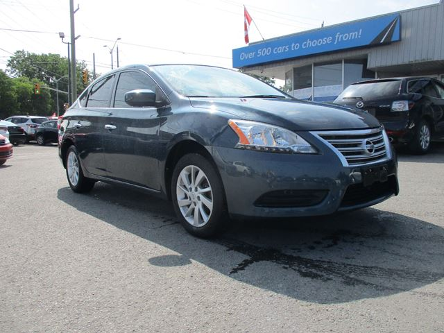 2015 NISSAN Sentra 1.8 SV HEATED SEATS, BACKUP CAM, ALLOYS!! in Kingston, Ontario