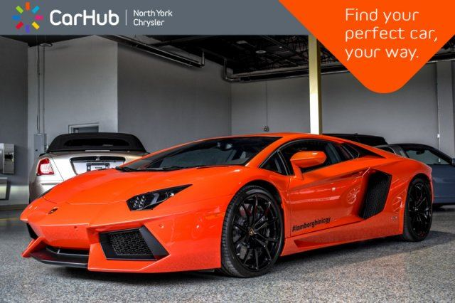 2017 LAMBORGHINI AVENTADOR LP700-4 Travel.Pkg Backup.Cam GPS Bluetooth Keyless.Go  in Thornhill, Ontario