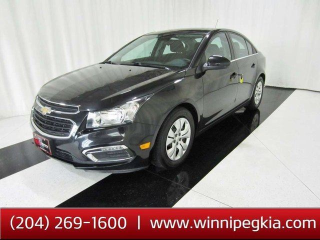 2015 CHEVROLET CRUZE 1LT *Accident Free & Always Owned In MB!* in Winnipeg, Manitoba