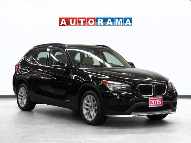 2015 BMW X1 xDrive28i 4WD Navigation Leather Pano-Sunroof in North York, Ontario