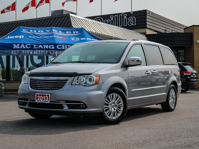 2013 Chrysler Town and Country Limited with DVD in