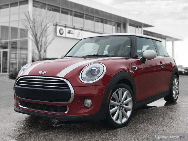 2015 MINI COOPER 3dr HB -- Loaded, Style and Light Package in Winnipeg, Manitoba