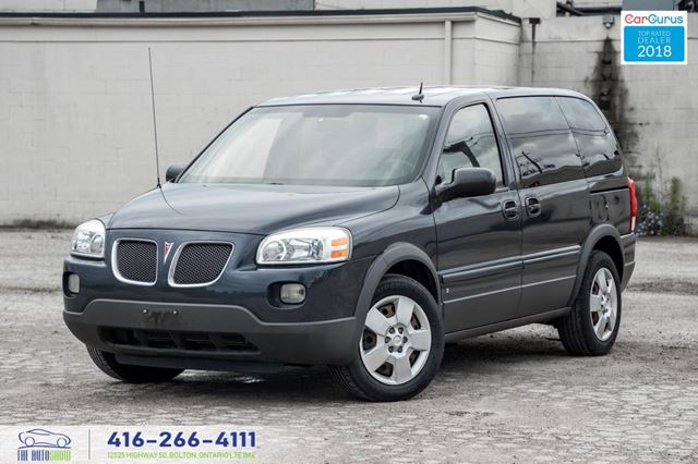 2008 Pontiac Montana 1Owner CleanCarfax Certified Serviced Tires Brakes in Toronto, Ontario