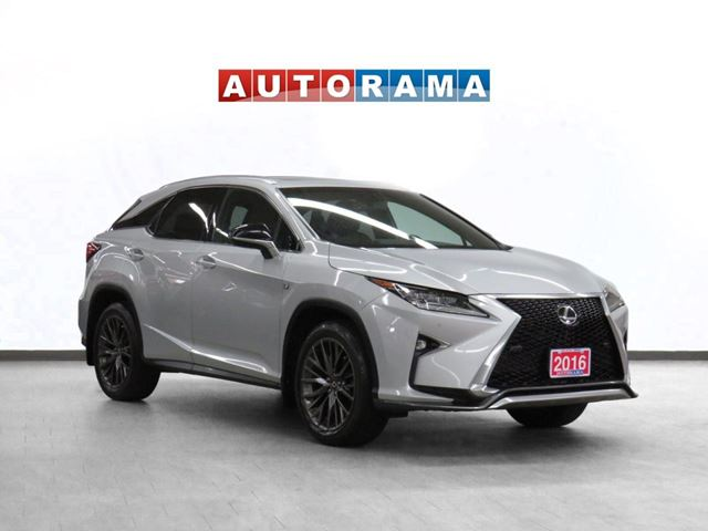 2016 LEXUS RX 350 F-Sport Navigation Leather Sunroof Backup Cam in North York, Ontario