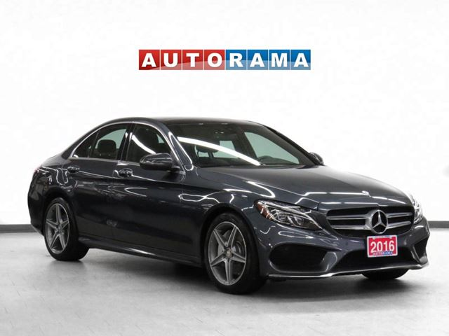 2016 MERCEDES-BENZ C-Class AMG Pkg 4Matic Navigation Leather Sunroof in North York, Ontario
