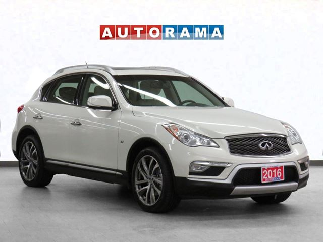 2016 INFINITI QX50 4WD Navigation Leather Sunroof Backup Cam in North York, Ontario