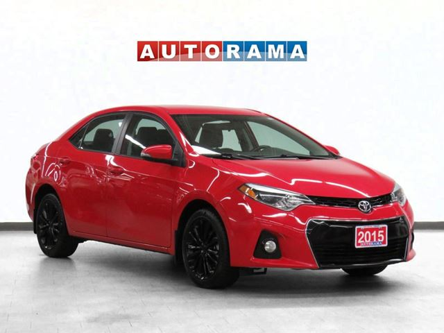 2015 Toyota Corolla S Leather Backup Cam in North York, Ontario