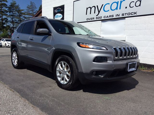 2015 JEEP Cherokee North HEATED SEATS, BACKUP CAM, V6, ALLOYS!! in Kingston, Ontario