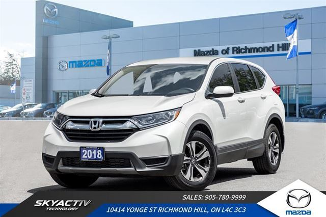 2018 HONDA CR-V LX LX 2WD Alloys*Bluetooth*Sharp in Richmond Hill, Ontario