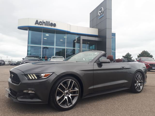 2017 FORD Mustang Premium, Leather, Convertible in Milton, Ontario