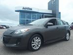 2012 Mazda MAZDA3 Sport *AS-IS* GS-SKY, Manual, Alloys, Lthr in Milton, Ontario