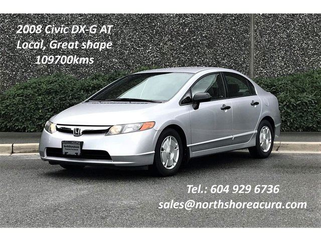 2008 HONDA Civic  Sedan DX-G at in North Vancouver, British Columbia