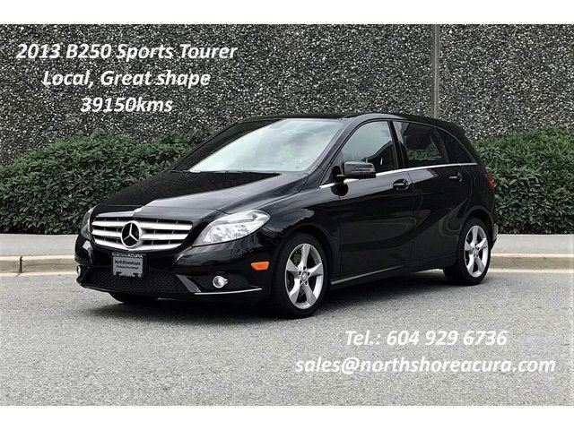 2013 MERCEDES-BENZ B-CLASS Sports Tourer in North Vancouver, British Columbia