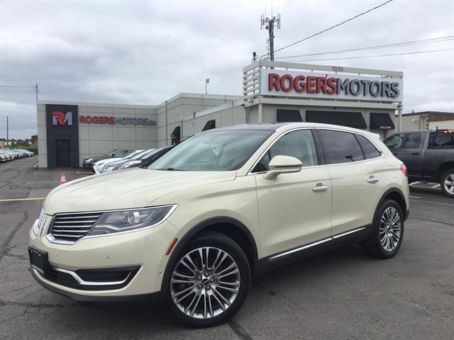 2016 LINCOLN MKX 3.7 AWD - NAVI - PANO ROOF - SELF PARKING  in Oakville, Ontario
