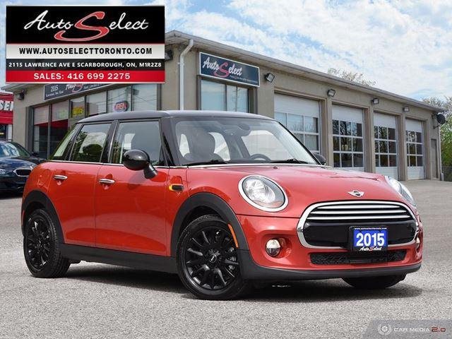 2015 MINI COOPER ONLY 90K! **NAVIGATION PKG** DUAL PAN-SUNROOF in Scarborough, Ontario