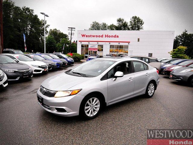 2012 HONDA CIVIC  LX - Sedan 5-Speed MT in Port Moody, British Columbia