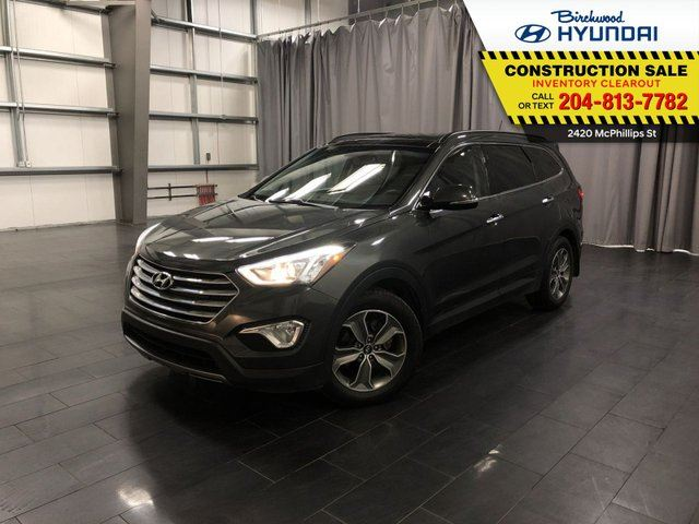 2014 HYUNDAI SANTA FE Luxury in Winnipeg, Manitoba
