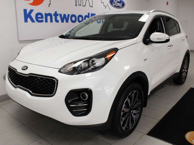 2019 KIA SPORTAGE EX AWD with power heated seats, heated steering wheel, push start/stop, and back up cam in Edmonton, Alberta