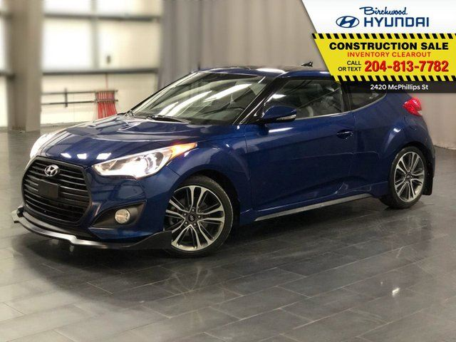 2016 HYUNDAI VELOSTER Turbo in Winnipeg, Manitoba
